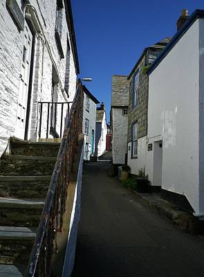 Photograph - Church Hill Port Isaac by Richard Brookes