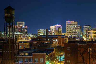Wall Art - Photograph - Church Hill View Of Downtown Richmond by Cliff Middlebrook