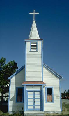 Church In Alaska Art Print by Carl Purcell