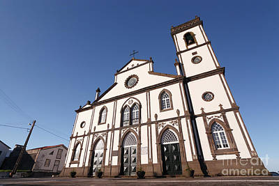 Church In Azores Islands Art Print by Gaspar Avila