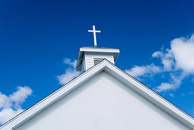 Church In Bahamas Art Print by Richard Steinberger