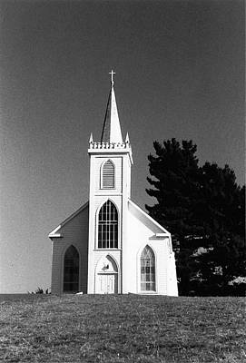 Photograph - Church In Bodega by Rose Cowperthwaite