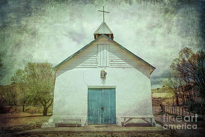 Photograph - Church In Cuartelez, Nm by Lynn Sprowl