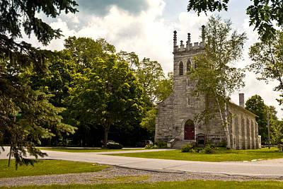 Church In Dorset, Vermont Print by Lynne Albright