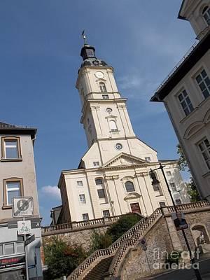 Photograph - Church In Gera Germany by Deborah DeLaBarre