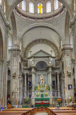 Photograph - Church In Guanajuato by Juli Scalzi