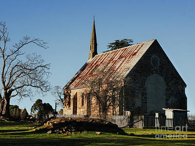 Photograph - Church In Hill End by Lexa Harpell