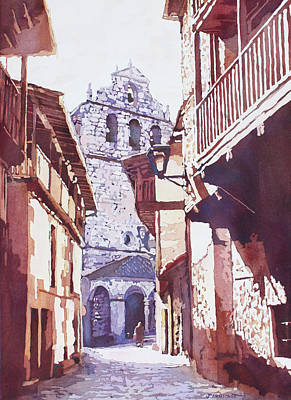 Painting - Church In Saint Martin by Jenny Armitage