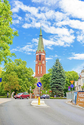 Photograph - Church In Sopot , Poland. by Marek Poplawski