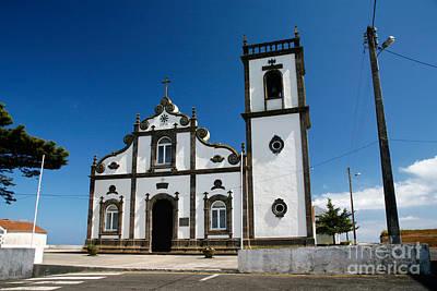 Church In The Azores Art Print by Gaspar Avila
