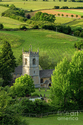 Photograph - Church In The Cotswolds by Brian Jannsen