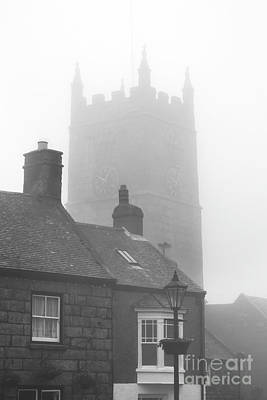 Photograph - Church In The Fog by Terri Waters