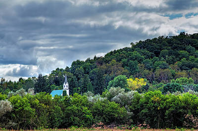 Photograph - Church In The Wildwood by Gary Holmes