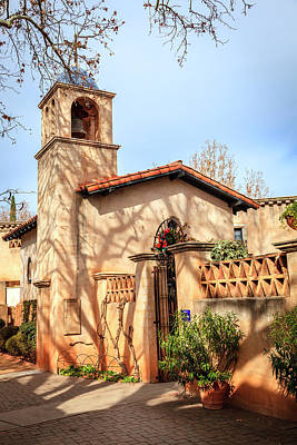 Photograph - Church In Tlaquepaque  by Alexey Stiop