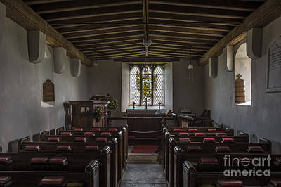Brentor Photograph - Church Interior by Bahadir Yeniceri