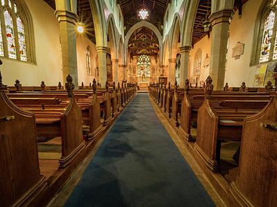 Photograph - Church Interior by Jean Noren
