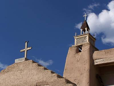 Photograph - San Jose De Gracia Church, Las Trampas, N.m. by Jeannie Bushman