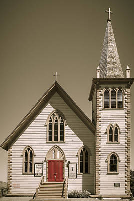 Photograph - Church by Jim Thompson