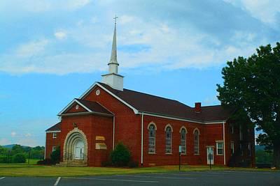 Photograph - Church by Kathryn Meyer
