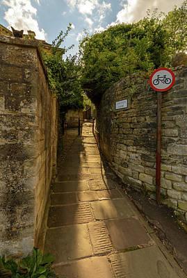 Photograph - Church Lane In Bradford-on-avon by Jacek Wojnarowski