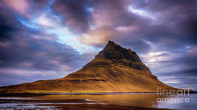 Photograph - Church Mountain Iceland by Chris Thaxter