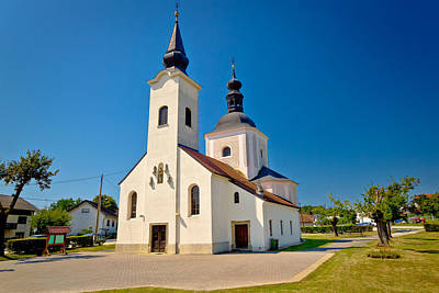 Photograph - Church Od Koruska In Krizevci by Brch Photography