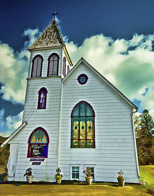 Photograph - Church Of A Small Town by Dale Stillman