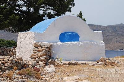 Photograph - Church Of Agios Ioannis On Tilos by David Fowler