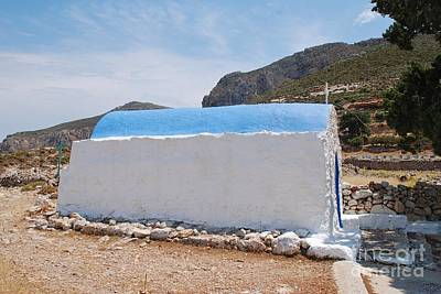Photograph - Church Of Agios Ioannis On Tilos Island by David Fowler