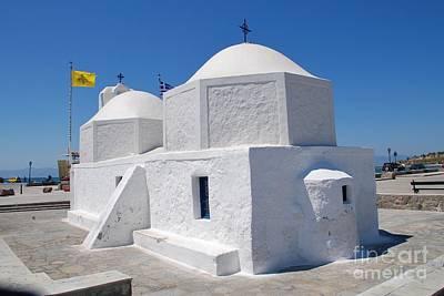 Photograph - Church Of Agios Nikolaos On Aegina by David Fowler