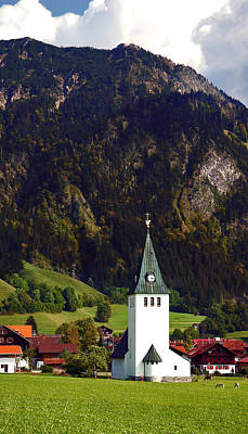 Photograph - Church Of Bad Oberdorf  by Ginger Wakem