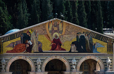 Photograph - Church Of Gethsemane by Steven Richman