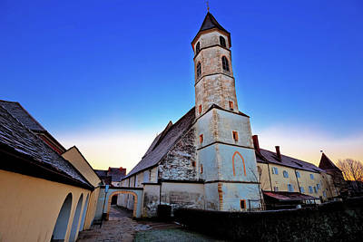 Photograph - Church Of Of Bad Radkersburg Morning View by Brch Photography