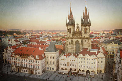 Prague Photograph - Church Of Our Lady Before Tyn by Joan Carroll