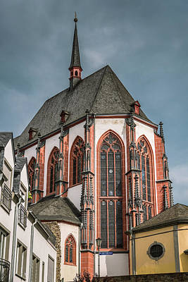 Church Of Our Lady Catholic Church  - Koblenz - Germany Art Print by Jon Berghoff