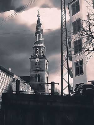 Photograph - Church Of Our Saviour Copenhagen by Dorothy Berry-Lound