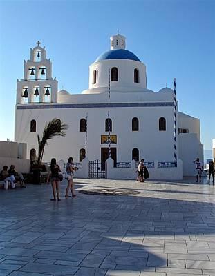 Church Of Panagia Platsani Art Print