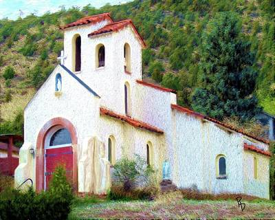Digital Art - Church Of Saint Joseph by Ric Darrell