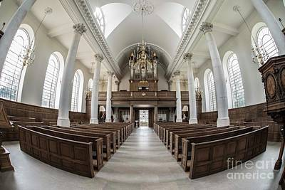 Photograph - Church Of Saint Mary - Aldermanbury by David Bearden
