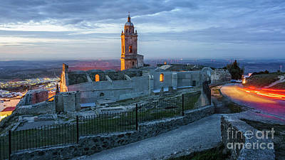 Photograph - Church Of Saint Mary The Crowned Medina-sidonia Cadiz Spain by Pablo Avanzini