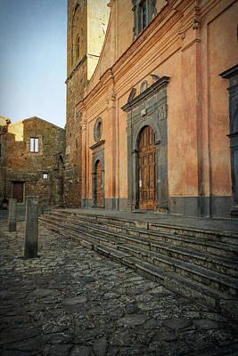 Photograph - Church Of San Donato Civita Di Bagnoregio Italy by Joan Carroll