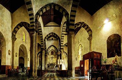 Photograph - Church Of San Giovanni Battista In Riomaggiore - Cinque Terre by Weston Westmoreland