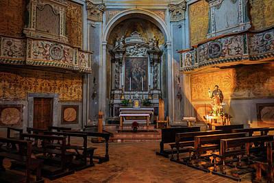 Photograph - Church Of San Giuseppe Del Duomo Orvieto Italy by Joan Carroll