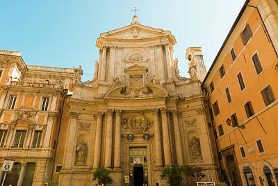 Photograph - Church Of San Marcello Al Corso In Rome by Marek Poplawski