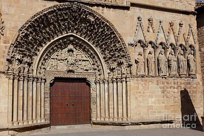 Travel - Church of Santa Maria de Olite, Olite, Navarra, Spain by Francisco Javier Gil Oreja