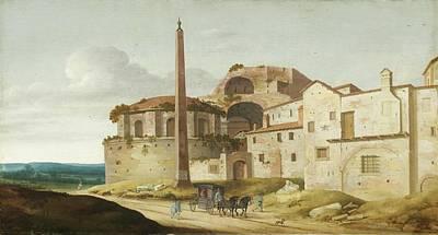 Church Of Santa Maria Della Febbre - Rome Art Print