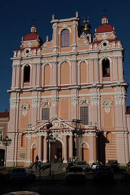 Photograph - Church Of St. Casimir, Vilnius, Lithuania by Lucinda Walter