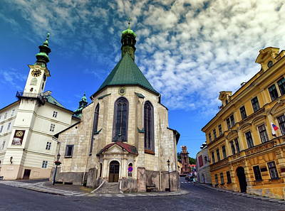 Photograph - Church Of St. Catherine, Banska Stiavnica, Slovakia by Elenarts - Elena Duvernay photo