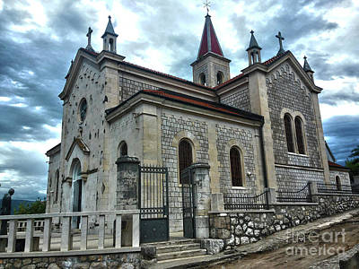 Photograph - Church Of St. Elijah Metkovic by Jasna Dragun