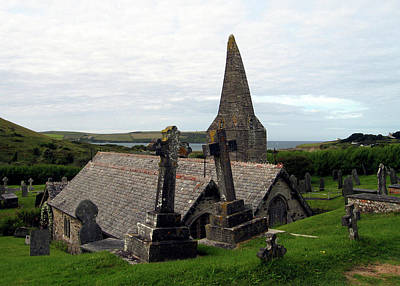 Photograph - Church Of St. Enodoc by Kurt Van Wagner